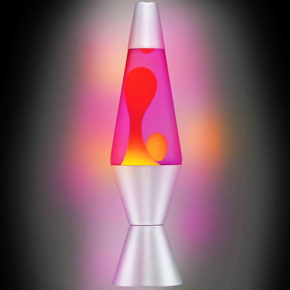 Orange Lava Lamp