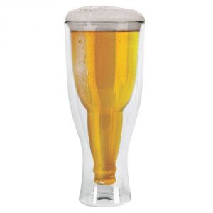 Upside Down Beer Glass Novelty Tankard Keeps Your Drinks
