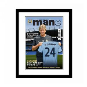 Magazine Cover (Man City)