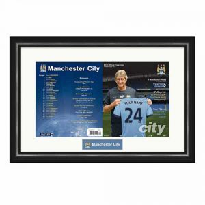 Man City Match Programme (Man City)