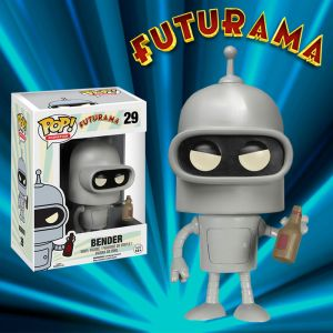 Futurama Bender POP VInyl Figurine