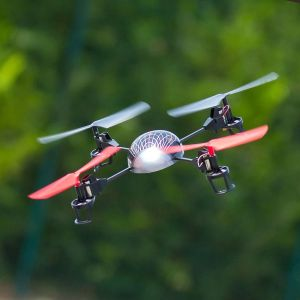 Quadcopter with LEDs