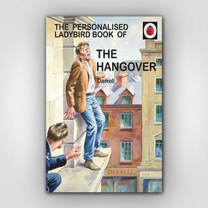 Personalised The Hangover: Book for Him