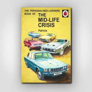 Personalised The Mid-life Crisis: Book for Her