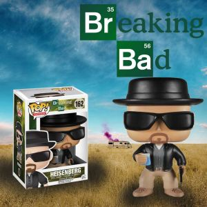 Breaking Bad Heisenberg Pop Vinyl Figurine