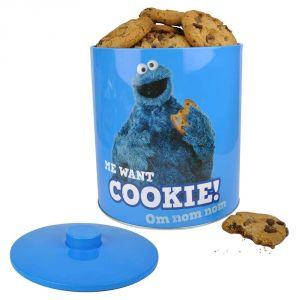Cookie Monster Cookie Tin 1
