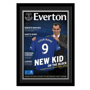 Magazine Cover (Everton)