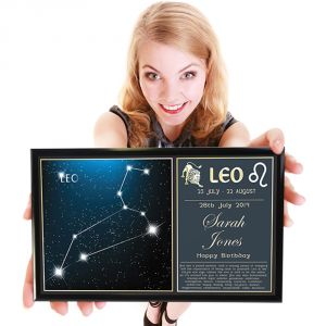 Personalised Star Sign Poster - You're A Star