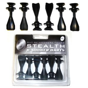 Stealth Crossbow Sucker Darts Pack of 6