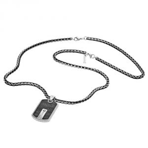 Police Mens Hybrid Necklace
