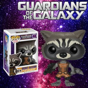 Rocket Racoon Guardians Of The Galaxy Pop Vinyl