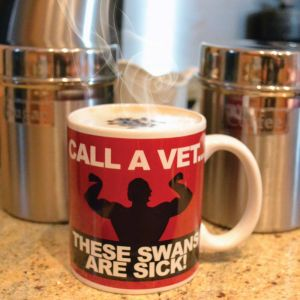 These Swans Are Sick Mug