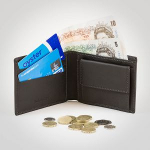 Timberland Large Bi-fold Coin Wallet Cocoa