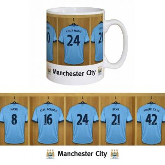 Dressing Room Mug (Man City)