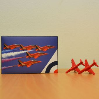R.A.F Red Arrow Cufflinks