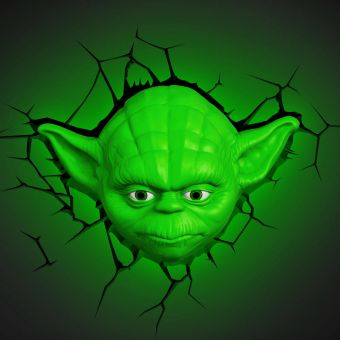 Star Wars Yoda Head Deco Light