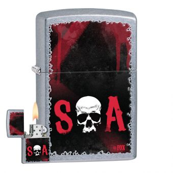Zippo Sons of Anarchy Street Cigarette Lighter