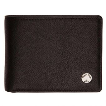 Seal 5CC & Coin Men's Wallet Black
