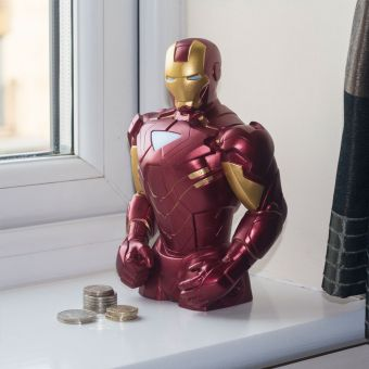 Iron Man Money Bank