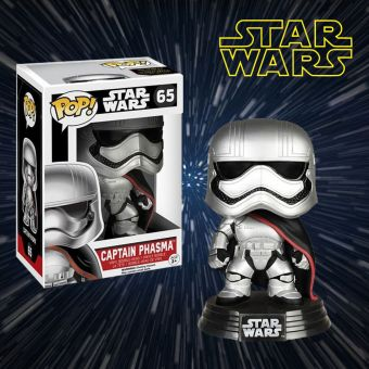 Star Wars Captain Phasma POP Vinyl Figurine