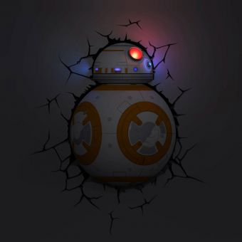 Star Wars BB8 Droid 3D Deco Light
