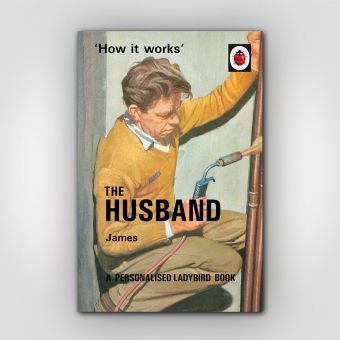Personalised Ladybird The Husband Book