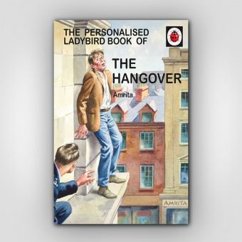 Personalised The Hangover: Book for Her