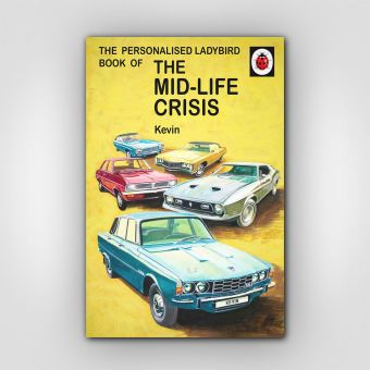 Personalised The Mid-life Crisis: Book for Him
