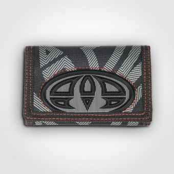Animal DW6WJ010 Pinnacles Black Wallet