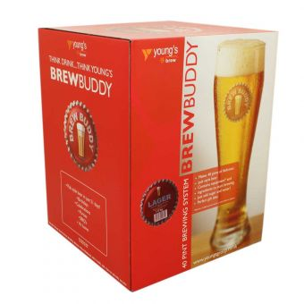 Brew Buddy 40 pint Beer Starter Kit (Lager)