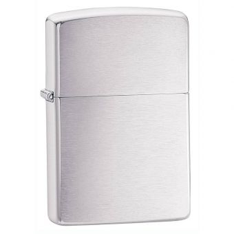 Brushed Chrome Lighter