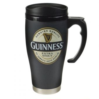 Black Label Travel Mug