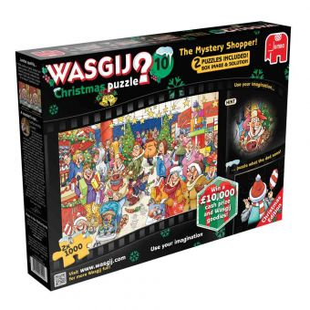 Wasgij Christmas Mystery Shopper Jigsaw Puzzle