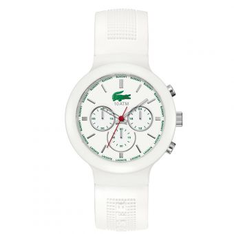 Lacoste White Chronograph Borneo Watch