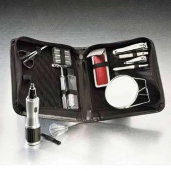 Men's 10 Piece Travel Grooming Kit