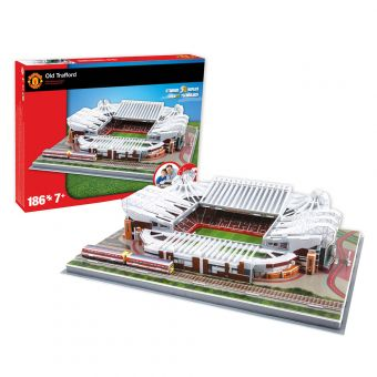 Old Trafford 3D Football Stadium Puzzle