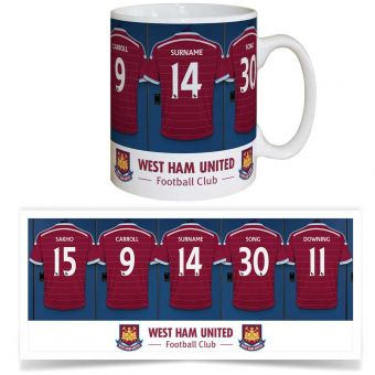 Dressing Room Mug (West Ham)