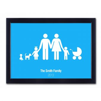 Personalised Family Poster