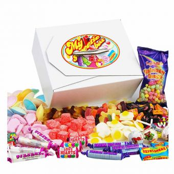 Personalised Retro Sweet Tuck Box
