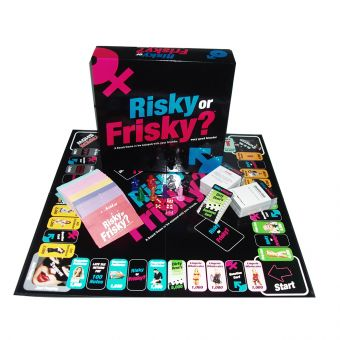 Risky or Frisky Adults Only Board Game