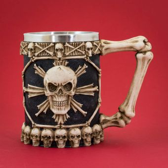 Large Tankard of Skulls 1