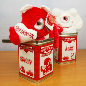 Teddy Tins - 'Love Monster'