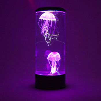 Neon Jellyfish Lamp