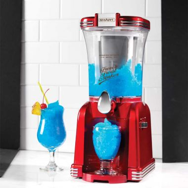 2 in 1 Retro Slushie & Soft Ice Cream Maker