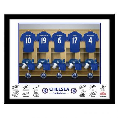 Chelsea Dressing Room Photo