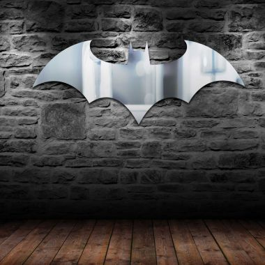 Batman Logo Mirror