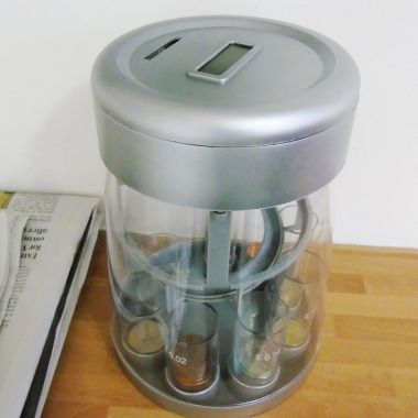 Coin Sorting Jar