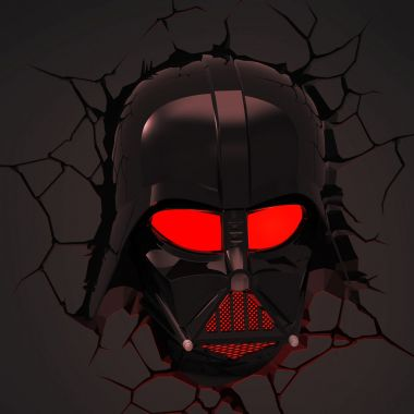 Darth Vader Head Deco Light