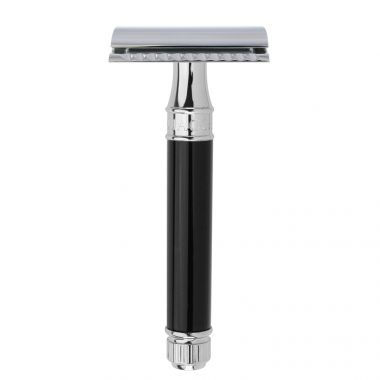 Double Edged Safety Razor Black
