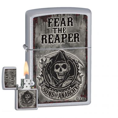 Zippo Sons of Anarchy Fear Cigarette Lighter